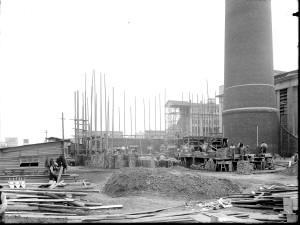 Elektrociepłownia PFZA w budowie