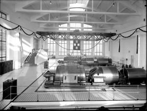 Elektrociepłownia PFZA - hala turbin