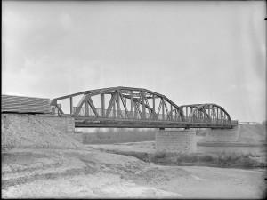 Nowy most na rzece Białej
