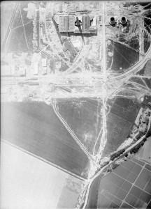 Fabryka z lotu ptaka, elektrociepłownia