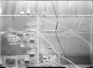 Zdjęcie lotnicze terenów fabrycznych 1928