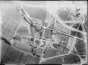 Zdjęcie lotnicze terenów fabrycznych 1929
