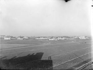 Panorama osiedla przyfabrcznego od strony płd-zachodniej