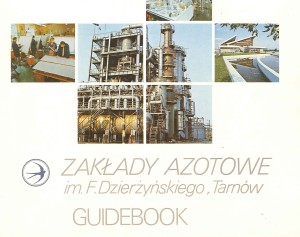 Folder reklamowy 1986
