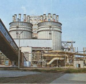 Wieże granulacyjne wytwórni nawozów