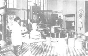 Hala pras w wytwórni tarflenu