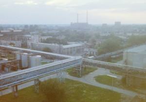 Panorama Azotów koniec l.90 XX wieku