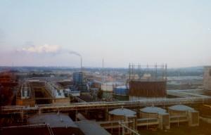 Panorama Azotów koniec l. 90 XX wieku
