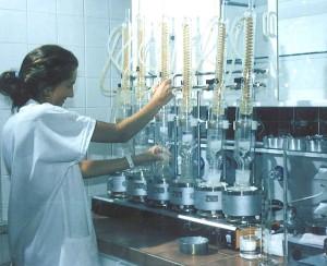 W zakładowym laboratorium