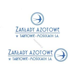 Logo Zakładów Azotowych obowiązujące do 2008 roku