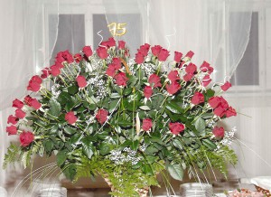 75 róż na 75-lecie Azotów w Tarnowie